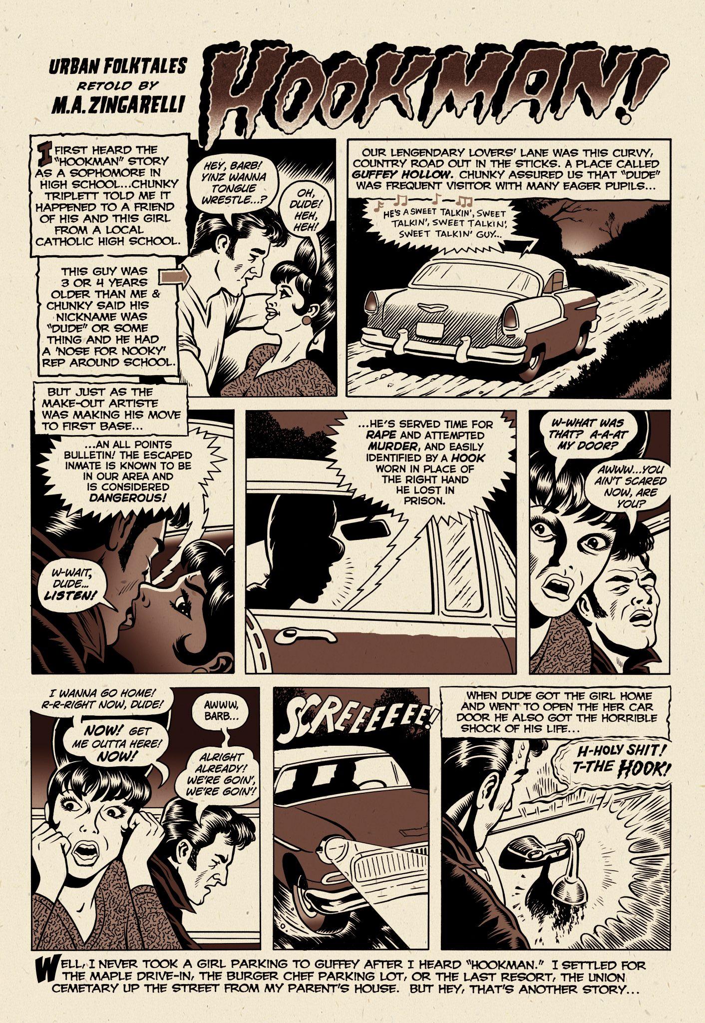 Urban Legends Comics